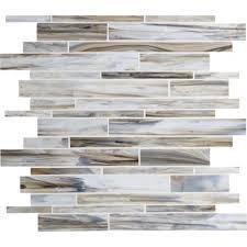 american olean 12 in x 12 in loren place sea shell glass wall tile