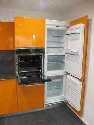 störmer küchen musterküche orangener hingucker störmer