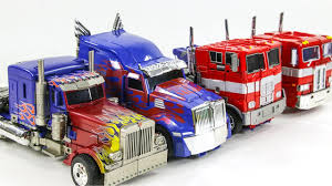 100 Optimus Prime Truck Model Transformers Big OverSized Movie G1 4 Vehicles