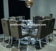 chaise fauteuil salle manger chaise fauteuil pour salle a manger capitonn anneau retour fonc gris