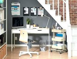 Ikea Computer Desk Hack by Ikea Bookcase With Desk Ladder Shelves Bookcase Desk Hack