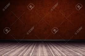 Brown Wood Textured Wall And Floor Royalty Free Vector Image