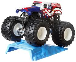 Hot Wheels Assorted Monster Jam Vehicles - Walmart Exclusive ... Hot Wheels Monster Jam Mohawk Warrior Chrome 2017 Unboxing Youtube Colctible Jammystery Trucks Flk27 Mohawk Warrior Truck Cake Trucking Stars Stripes 55 W Wiki Fandom Powered By Wikia Purple With Silver Hair And Other Jams Toys Games Vehicles Remote Hot Wheels Monster Jam Includes Team Flag New Bright 143 Scale Rc 360 Flip Set Llfunction Mini Car Black Avenger Trucks Pinterest