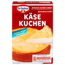 dr oetker cheese cake käse kuchen mix