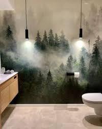 530 tapeten fürs badezimmer ideen in 2021 tapeten