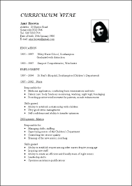 Updated Resume Examples Vitae Sample Curriculum Format Free Samples Within Comprehensive