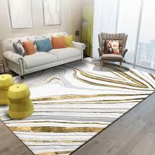 nordic minimalistischen stil große teppich gold grau gestreiften rechteckigen konische wohnzimmer schlafzimmer nicht slip boden socke tür matte