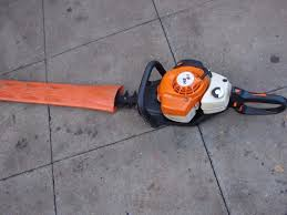 stihl hs 81r petrol hedge trimmer in cupar fife gumtree