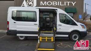 New Wheelchair Van For Sale 2018 Ford Transit LT Accessible With