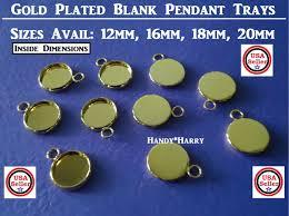 craft supplies 10pc platinum plated brass connector