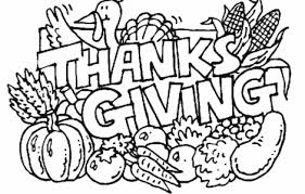 Coloring Pages Thanksgiving Free