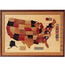 woodworking project paper plan to build u s state quarter