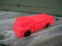 100 Gay Truck Vintage Plastic Red Ford F750 Fire By Toys Etsy
