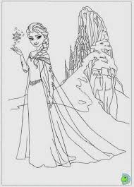 Disney Frozen Coloring Pages For Kids To Print