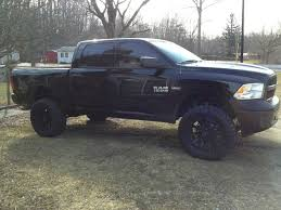 Blacked Out 2013 Dodge Ram 1500 Lifted, Camo Window Visors For ...
