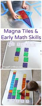 four math with magna tiles