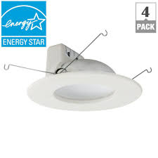 Lamp Shade Adapter Ring Home Depot by Ecosmart 65w Equivalent Soft White Dimmable Led Br30 Indirect