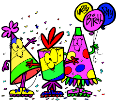 Cartoon Hat Animated Birthday Clipart
