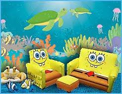 Spongebob Bedroom Set by Underwater Theme Bedrooms Ocean Sea Life Theme Bedrooms