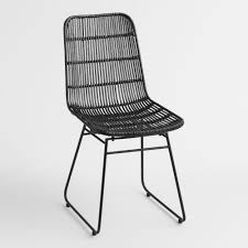 Black Wicker Emily Chair By World Market | Products In 2019 ... Lotta Ding Chair Black Set Of 2 Source Contract Chloe Alinum Wicker Lilo Chairblack Rattan Chairs Uk Design Ideas Nairobi Woven Side Or Natural Flight Stream Pe Outdoor Modern Hampton Bay Mix And Match Brown Stackable