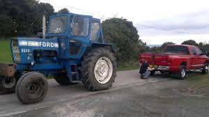 Epic Tug O' War: Dodge Ram Cummins 3500 Versus Ford 8600 Tractor ...