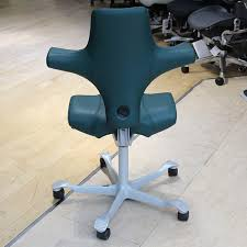 Hag Capisco Chair Manual by Hag Capisco 8106 Chair Green Paloma Leather Showroom Model