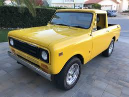 Restored RHD 4×2: Ex-USPS 1977 International Harvester Scout II ...
