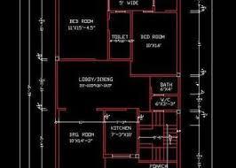 Free Floor Planning House Space Planning 30 X50 Ground Floor Layout Plan Dwg