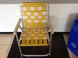 Vintage Webbed Aluminum Folding Lawn/patio Beach Chair Yellow/white ... Vintage Alinum Folding Redwood Wood Slat Lawn Chair Patio Deck Webbed Lawnpatio Beach Yellowwhite Table Tables Stainless Steel Ding Garden 2 Vintage Matching Alinum Webbed Sunbeam Lawn Arm Beach Chair Pair All Folding Mod Orange Patio Pair Of Chairs By Telescope Fniture Company For Sale At 1stdibs Retro Alinum Patio Fniture Ujecdentcom And Mid Century Vtg Blue Canvas Director How To Tell If Metal Decor Is Worth Refishing Diy 3 Outdoor Macrame A Howtos