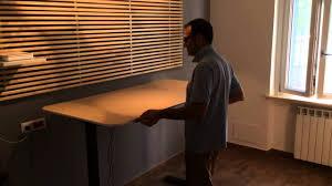 Ikea Bekant L Shaped Desk by Ikea Bekant Lift Table Youtube