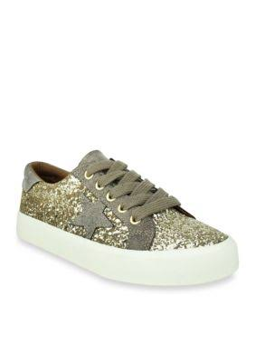 Not Rated Women's Sneaker Gold Illana Sneaker 10