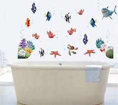 decobay finding nemo fisch wand sticker mehrweg