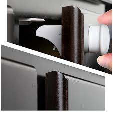 Magnetic Locks For Furniture by Self Sticking Magnetic Locking System Magnetic Cabinet Locks Set