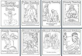 Free Printable Easter Teaching Resources Including Colouring Sheets Maths Worksheets Holy Week Book Stations Of The Cross