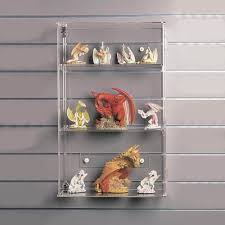 59cm Display Case Lockable Wall Acrylic Show