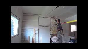 Sheetrock Over Ceiling Tiles by Drywall Over Plaster And Lath Laminating Drywall Tapcons Youtube