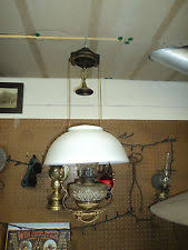 Antique Oil Lamps Ebay by Antique Hanging Library Oil Lamp Ebay 150 Misc Pinterest Oil