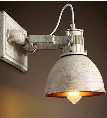 light industrial wall light sconces vintage country style