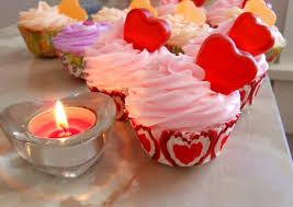 Cashmere And Pearls Fizzing Bath Cupcake Valentines Day