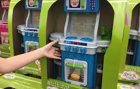Dora Kitchen Play Set Walmart by Kitchen Playset Walmart Amazon Com Kidkraft Retro Kitchen And