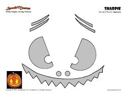 Free Headless Horseman Pumpkin Carving Stencils by Patterns For Carving Pumpkins Free Jack Skellington Pumpkin