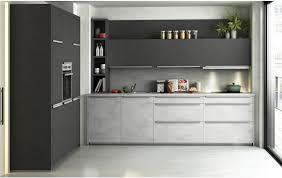 zweimal betonoptik in einem küchetraum ka 52 210