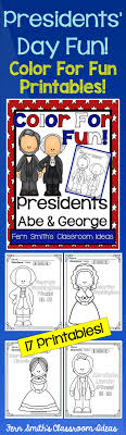 Presidents Day Coloring Pages With George Washington And Abraham Lincoln