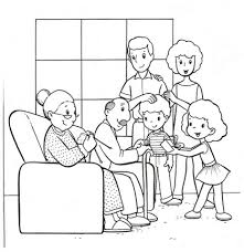 Marvelous Ideas Family Coloring Pages Get This Easy For Preschoolers 9iz28