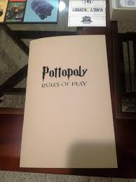 Pottopoly Rule Book Cover