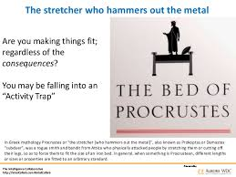 the bed of procrustes how blending business continuity strategy and risk management mitiga