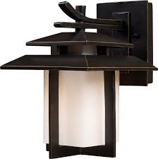 japanese lantern wood outdoor wall mounted lighting fixtures