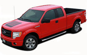F-150 QUAKE HOOD : Ford F-150 Hockey Stripe