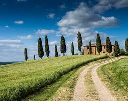 Digital Landscape Tuscany Photography Villa Photo Download Instant