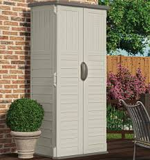 Suncast Vertical Storage Shed Bms4500 by Furniture Awesome Vertical Suncast Storage Shed In White Made Of